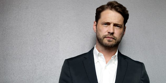 SYDNEY, AUSTRALIA - FEBRUARY 19: (EUROPE AND AUSTRALASIA OUT) Actor Jason Priestley poses during a photo shoot at the InterContinental Hotel on February 19, 2012 in Sydney, Australia. Priestley is in Australia to promote his new television show 'Call Me Fitz'. (Photo by Craig Greenhill/Newspix/Getty Images)