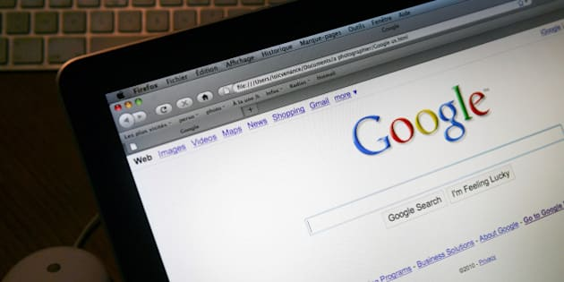 This picture taken on January 27, 2010 in Paris shows the internet homepage of the english version of the search engine website Google.   AFP PHOTO LOIC VENANCE (Photo credit should read LOIC VENANCE/AFP/Getty Images)