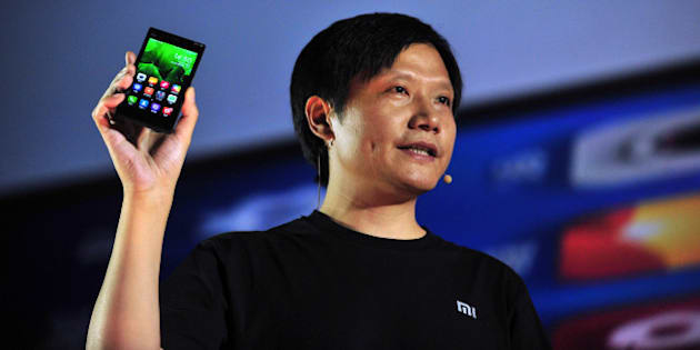 BEIJING, CHINA - SEPTEMBER 05:  (CHINA OUT) Xiaomi CEO Lei Jun attends the launch of the new Xiaomi smartphone and Xiaomi TV at National Convention Center on September 5, 2013 in Beijing, China. China's smartphone maker Xiaomi Corp, which recently hired former Google vice president Hugo Barra, launched its third-generation Android smartphone 'Mi-3' and a 47-inch smart television on Thursday.  (Photo by ChinaFotoPress/ChinaFotoPress via Getty Images)