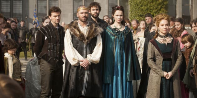 reign cast gets down and dirty with details on royal tv show