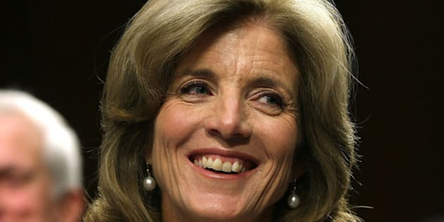 WASHINGTON, DC - SEPTEMBER 19:  Caroline Kennedy smiles during her Senate Foreign Relations Committee confirmation hearing on Capitol Hill, September 19, 2013 in Washington, DC. If confirmed by the U.S. Senate Kennedy will become the first female U.S. Ambassador to Japan.  (Photo by Mark Wilson/Getty Images)