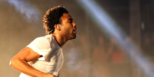 LAS VEGAS, NV - OCTOBER 26:  Rapper Childish Gambino attends day 1 of the Life Is Beautiful Festival on October 26, 2013 in Las Vegas, Nevada.  (Photo by FilmMagic/FilmMagic)