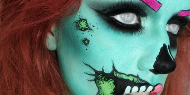 last minute halloween makeup ideas cheap diy and creative ways to scare friends photos