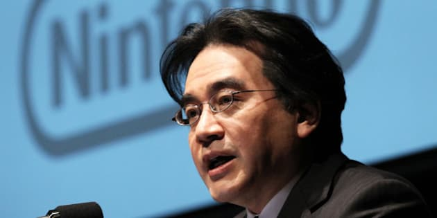 Satoru Iwata, president of Nintendo Co., speaks during a corporate strategy meeting in Tokyo, Japan, on Thursday, Jan. 31, 2013. Nintendo, the world's largest maker of video-game machines, plunged the most in eight months in Osaka trading after forecasting a second straight operating loss on lower-than-expected sales of its consoles and players. Photographer: Koichi Kamoshida/Bloomberg via Getty Images
