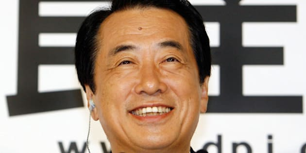 Naoto Kan, acting leader of the main oppsition Democratic Party of Japan (DPJ), smiles as he answers questions from a live television program after the Upper House elections, at party headquarters in Tokyo, 29 July 2007. Japanese Prime Minister Shinzo Abe's government suffered a crushing defeat in upper house elections but the conservative leader insisted he would stay in power.   AFP PHOTO/Toru YAMANAKA        (Photo credit should read TORU YAMANAKA/AFP/Getty Images)