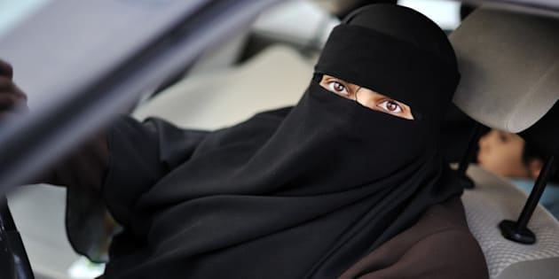 muslim middle eastern female...