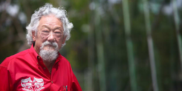 MELBOURNE, AUSTRALIA - FEBRUARY 18: In this handout image provided by Sustainable Living Festival,  scientist and environmentalist David Suzuki poses during the Sustainable Living Festival on February 18, 2011 in Melbourne, Australia.  (Photo by Marianna Massey/Sustainable Living Festival via Getty Images)