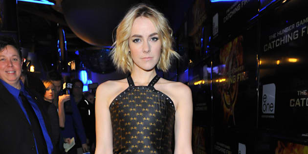 TORONTO, ON - NOVEMBER 19:  Actress Jena Malone attends the 'The Hunger Games: Catching Fire' - Canadian Premiere at Scotiabank Theatre on November 19, 2013 in Toronto, Canada.  (Photo by George Pimentel/WireImage)
