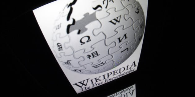 The 'Wikipedia' logo is seen on a tablet screen on December 4, 2012 in Paris. AFP PHOTO / LIONEL BONAVENTURE        (Photo credit should read LIONEL BONAVENTURE/AFP/Getty Images)