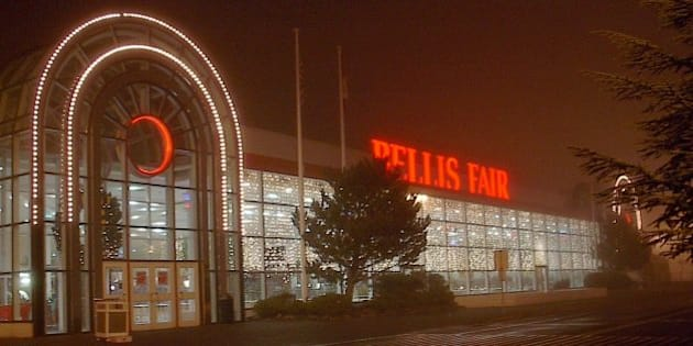 The Bellis Fair Mall after I got off from work.