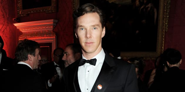Benedict Cumberbatch Shows Us How To Wear Black Tie At Winter Whites