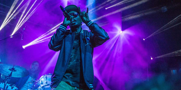 AUSTIN, TX - NOVEMBER 10:  Rapper Teren Delvon Jones aka Del the Funky Homosapien of Deltron 3030 performs on stage during Day 3 of Fun Fun Fun Fest at Auditorium Shores on November 10, 2013 in Austin, Texas.  (Photo by Rick Kern/Getty Images)