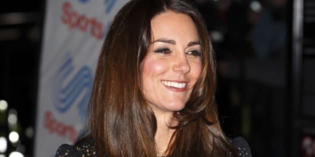 LONDON, UNITED KINGDOM - NOVEMBER 28: (EMBARGOED FOR PUBLICATION IN UK NEWSPAPERS UNTIL 48 HOURS AFTER CREATE DATE AND TIME) Catherine, Duchess of Cambridge, Patron of SportsAid, attends the SportsBall, the charity's annual gala dinner at Victoria Embankment Gardens on November 28, 2013 in London, England. (Photo by Max Mumby/Indigo/Getty Images)