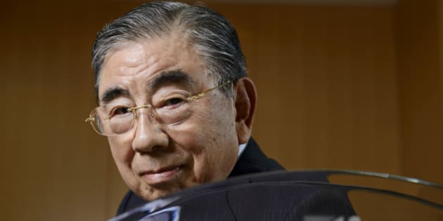 Toshifumi Suzuki, chairman and chief executive officer of Seven & I Holdings Co., poses for a photograph after an interview in Tokyo, Japan, on Thursday, May 30, 2013. Seven & I, the operator of 7-Eleven convenience stores, plans more acquisitions in the U.S. and may more than double North America outlets as consumer spending improves in the largest economy. Photographer: Akio Kon/Bloomberg via Getty Images