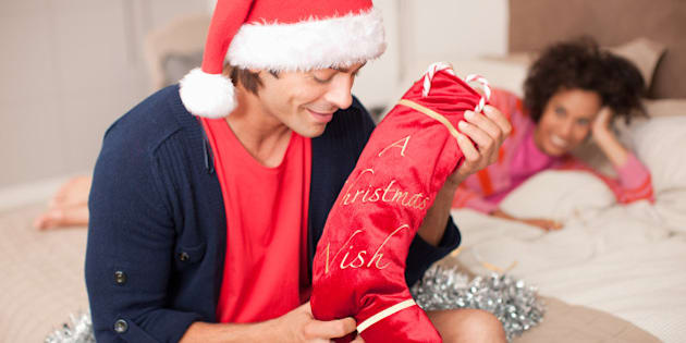 small presents can mean the most - Christmas Stockings For Men