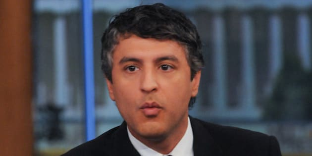 MEET THE PRESS -- Pictured: Reza Aslan, Author, 'No god but God: The Origins, Evolution and the Future of Islam' appears on 'Meet the Press' in Washington, D.C., Sunday, September 12, 2010.  (Photo by William B. Plowman/NBC/NBCU Photo Bank via Getty Images)