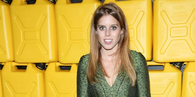 NEW YORK, NY - DECEMBER 16:  HRH Princess Beatrice of York attends the 8th annual charity: ball Gala at the Duggal Greenhouse on December 16, 2013 in the Brooklyn borough of New York City.  (Photo by Rob Kim/Getty Images)