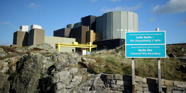 TREGELE, UNITED KINGDOM - OCTOBER 23:  A general view of the Wylfa nuclear power station on October 23, 2013 in Tregele, Anglesey, United Kingdom. The government has announced that the first new nuclear power station to be built in Britain since 1995 will be at Hinkley Point near Bristol. The announcement will come as welcome news for Japanese company Hitachi who have proposed a new Wylfa reactor.  (Photo by Christopher Furlong/Getty Images)