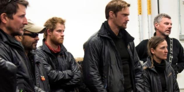 Prince Harry And Alexander Skarsgard Look Hot At South Pole Expedition (PHOTO)