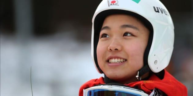HINTERZARTEN, GERMANY - DECEMBER 21:  Sara Takanashi of Japan smiles after winning at the Ladies Ski Jumping HS 108 during the FIS Women's Ski Jumping on December 21, 2013 in Hinterzarten, Germany.  (Photo by Simon Hofmann/Bongarts/Getty Images)