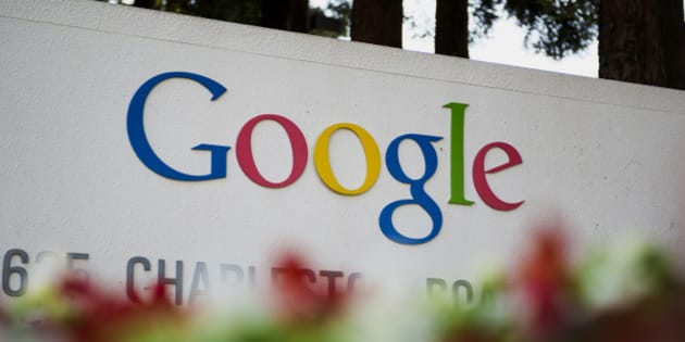 Google Inc. signage is displayed in front of the company's headquarters in Mountain View, California, U.S., on Friday, Sept. 27, 2013. Google is celebrating its 15th anniversary as the company reaches $290 billion market value. Photographer: David Paul Morris/Bloomberg via Getty Images