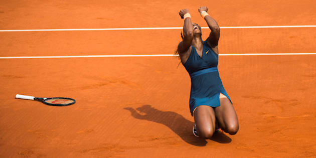 PARIS, FRANCE - JUNE 08:  Serena Williams wins the French open 2013 at Roland Garros on June 8, 2013 in Paris, France.  (Photo by Rindoff/Charriau/WireImage)