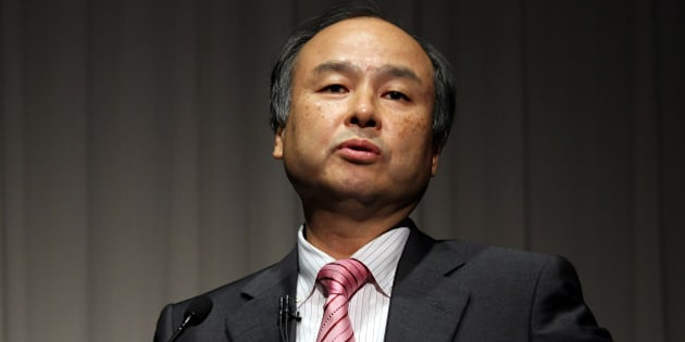 Masayoshi Son, chairman and chief executive officer of SoftBank Corp., speaks during a news conference in Tokyo, Japan, on Thursday, Oct. 31, 2013. SoftBank, the Japanese wireless carrier led by billionaire Son, posted second-quarter profit that beat analyst estimates as acquisitions and Apple Inc.'s iPhone lured users. Photographer: Junko Kimura/Bloomberg via Getty Images