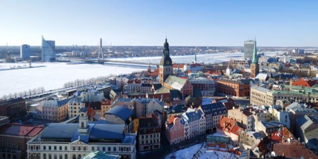 city of riga  latvia