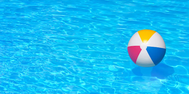 inflatable colorful ball...