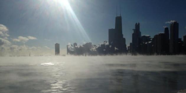 Risultati immagini per freddo polare negli stati uniti immagini'