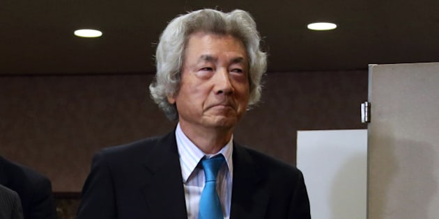 Junichiro Koizumi, former Japan prime minister, arrives for a news conference at the Japan National Press Club in Tokyo, Japan, on Tuesday, Nov. 12, 2013. Prime Minister Shinzo Abe faces another prominent opponent to his plans to return to nuclear power after the Fukushima disaster, as Koizumi called for Japan to immediately abandon its reactors. Photographer: Tomohiro Ohsumi/Bloomberg via Getty Images