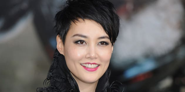 LONDON, ENGLAND - JULY 04:  Rinko Kikuchi attends the European Premiere of 'Pacific Rim' at BFI IMAX on July 4, 2013 in London, England.  (Photo by Ferdaus Shamim/WireImage)