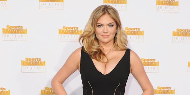 HOLLYWOOD, CA - JANUARY 14:  Model Kate Upton arrives at NBC And Time Inc. Celebrate 50th Anniversary Of Sports Illustrated Swimsuit Issue at Dolby Theatre on January 14, 2014 in Hollywood, California.  (Photo by Jon Kopaloff/FilmMagic)