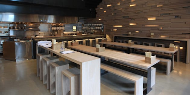 TORONTO, ON - SEPTEMBER 19:   Overall of the floor of the dining area. Momofuku the creation of superstar chef David Chang brings his food to Toronto. The much anticipated resto is famous for noodles and pork buns.        (Rene Johnston/Toronto Star via Getty Images)