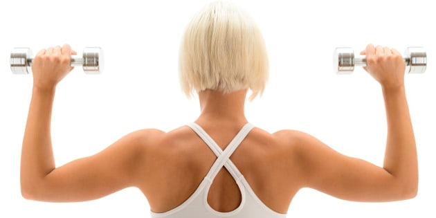 Lose Arm Fat: 6 Moves To Get Rid Of Upper Arm Flab | HuffPost Canada