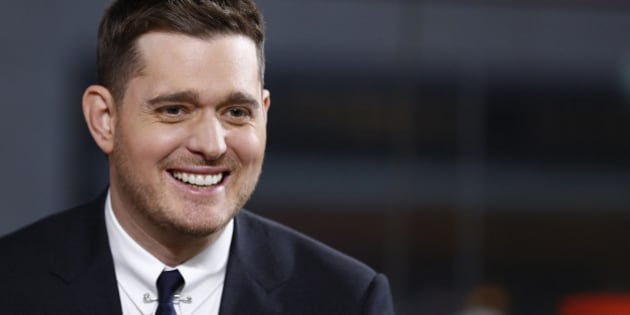 TODAY -- Pictured: Michael Buble appears on NBC News' 'Today' show -- (Photo by: Peter Kramer/NBC/NBC NewsWire via Getty Images)