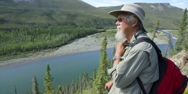 David looks over the Hart River valley on one of the many hikes into the alpine. Juri Peepre