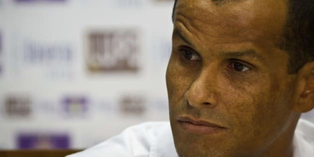 SAO PAULO, BRAZIL - JANUARY 22:  Rivaldo speaks during the press conference for the presentation of new reinforcements for Sao Caetano on January 22, 2013 in Sao Paulo, Brazil. (Photo by Ale Vianna/News Free/LatinContent/Getty Images)