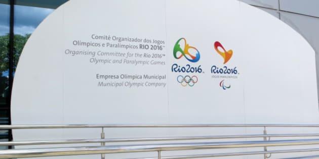 Escritóros do Comitê das Olimpíadas Rio 2016