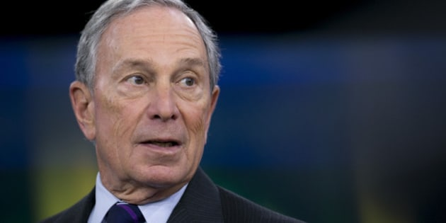 Michael 'Mike' Bloomberg, Bloomberg LP founder and former mayor of New York City, speaks during a Bloomberg Television interview in New York, U.S., on Tuesday, Jan. 21, 2014. Bill Gates, the world's richest man, said that by 2035 no nation will be as poor as any of the 35 that the World Bank now classifies as low-income, even adjusting for inflation. Photographer: Scott Eells/Bloomberg via Getty Images