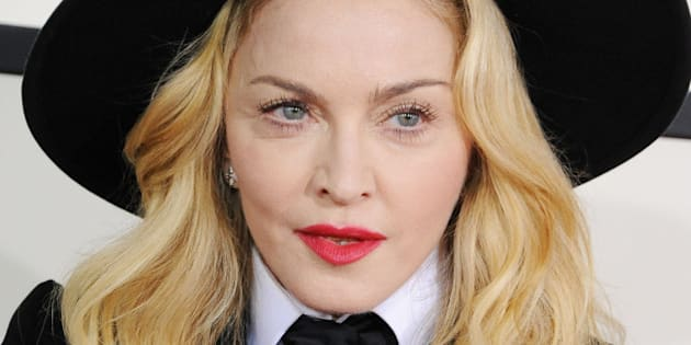 LOS ANGELES, CA - JANUARY 26:  Singer Madonna attends the 56th GRAMMY Awards at Staples Center on January 26, 2014 in Los Angeles, California.  (Photo by Steve Granitz/WireImage)