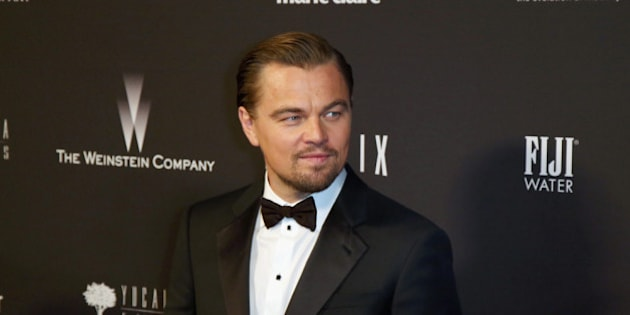 BEVERLY HILLS, CA - JANUARY 12: Actor  Leonardo DiCaprio attends The Weinstein Company & Netflix's 2014 Golden Globes After Party presented by Bombardier, FIJI Water, Lexus, Laura Mercier, Marie Claire and Yucaipa Films at The Beverly Hilton Hotel on January 12, 2014 in Beverly Hills, California.  (Photo by Ari Perilstein/Getty Images for The Weinstein Company)