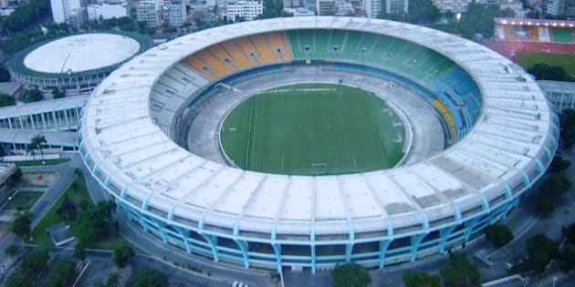 Maracaná is an open-air stadium mainly used for football matches between the major football clubs in Rio de Janeiro. The stadium currently seats 88,992 spectators.