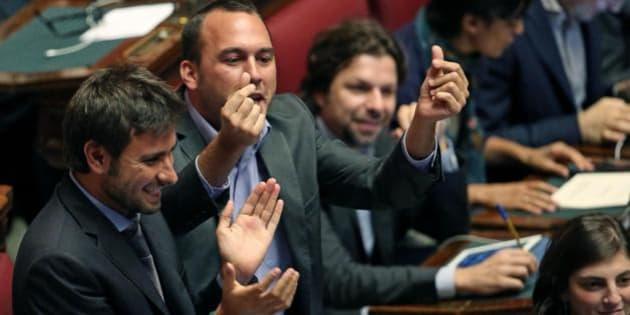 M5s parlamentari 5 stelle consegnano mozione sul reddito for Parlamentari 5 stelle elenco