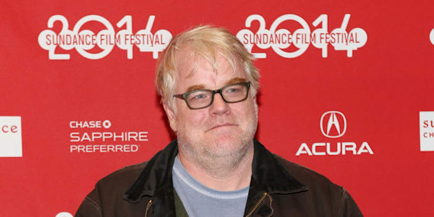 PARK CITY, UT - JANUARY 19:  Actor Philip Seymour Hoffman attends the premiere of 'A Most Wanted Man' at Eccles Center Theatre during the 2014 Sundance Film Festival on January 19, 2014 in Park City, Utah.  (Photo by Robin Marchant/Getty Images for Sundance Film Festival)