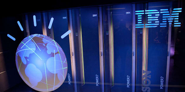 YORKTOWN HEIGHTS, NY - JANUARY 13:  A general view of IBM's 'Watson' computing system at a press conference to discuss the upcoming Man V. Machine 'Jeopardy!' competition at the IBM T.J. Watson Research Center on January 13, 2011 in Yorktown Heights, New York.  (Photo by Ben Hider/Getty Images)