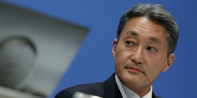 Kazuo Hirai, president and chief executive officer of Sony Corp., pauses during a news conference in Tokyo, Japan, on Thursday, Feb. 6, 2014. Sony forecast a surprise $1.1 billion annual loss and will cut 5,000 more jobs as Hirai widens his restructuring plan in the face of shrinking demand for TVs and computers. Photographer: Kiyoshi Ota/Bloomberg via Getty Images