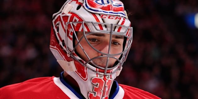 MONTREAL, QC - FEBRUARY 2:  Carey Price #31 of the Montreal Canadiens skates during the NHL game against the Winnipeg Jets at the Bell Centre on February 2, 2014 in Montreal, Quebec, Canada.  The Jets defeated the Canadiens 2-1.  (Photo by Richard Wolowicz/Getty Images)
