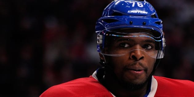 MONTREAL, QC - FEBRUARY 2:  P.K. Subban #76 of the Montreal Canadiens skates during the NHL game against the Winnipeg Jets at the Bell Centre on February 2, 2014 in Montreal, Quebec, Canada.  The Jets defeated the Canadiens 2-1.  (Photo by Richard Wolowicz/Getty Images)