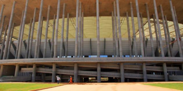 O Estádio Nacional Mané Garrincha receberá a partida de abertura da Copa das Confederações, em 15 de junho. Fotos: Danilo Borges/ Portal da Copa